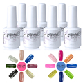 LABORATORIO DE GEL de Larga Duración Gel UV LED Nail Polish Nail Art Salon Empapa de Elegir 1 Color 15 ml