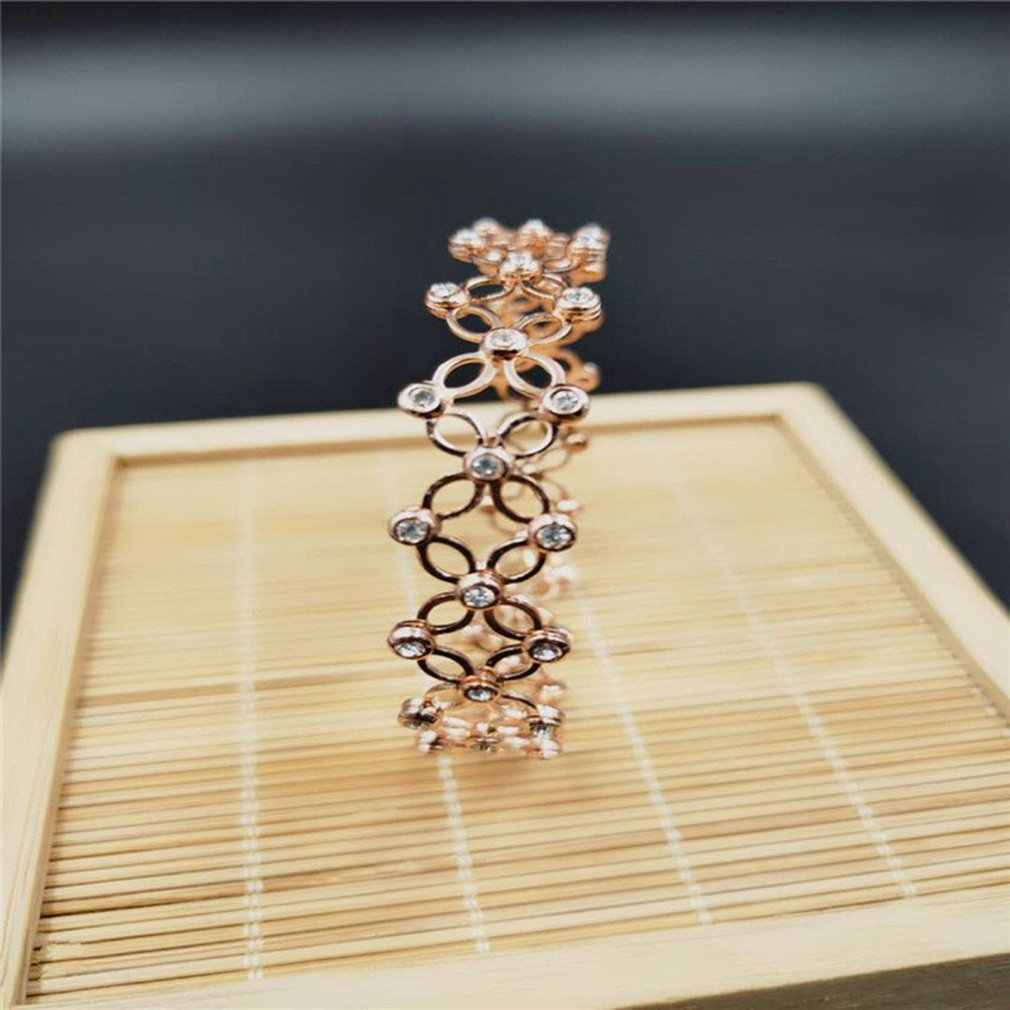 Retractable Silver Bangle Bracelet