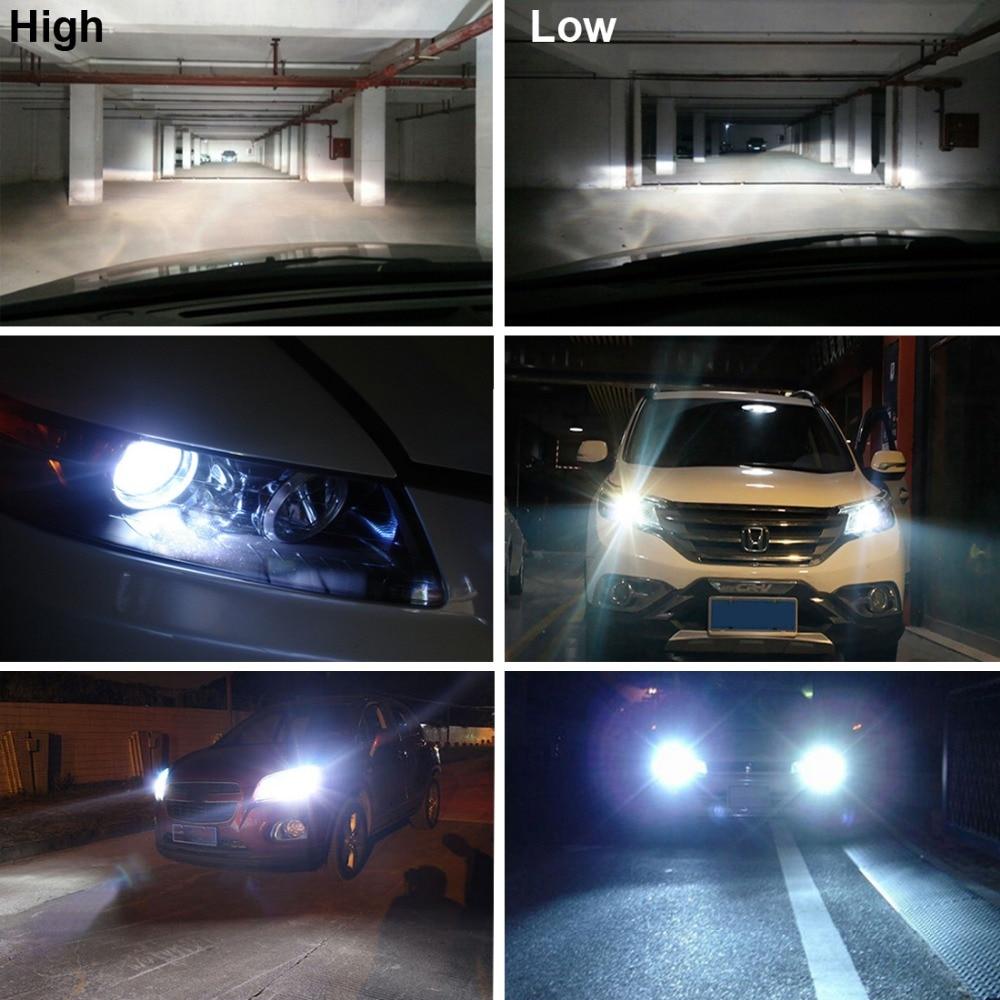 Купить с кэшбэком Xenon Hid Kit h4-3 Bixenon HI/LO beam Bi Xenon 12V 35W H4 HB2 9003 H/L xenon HID replacement kit for Car headlight