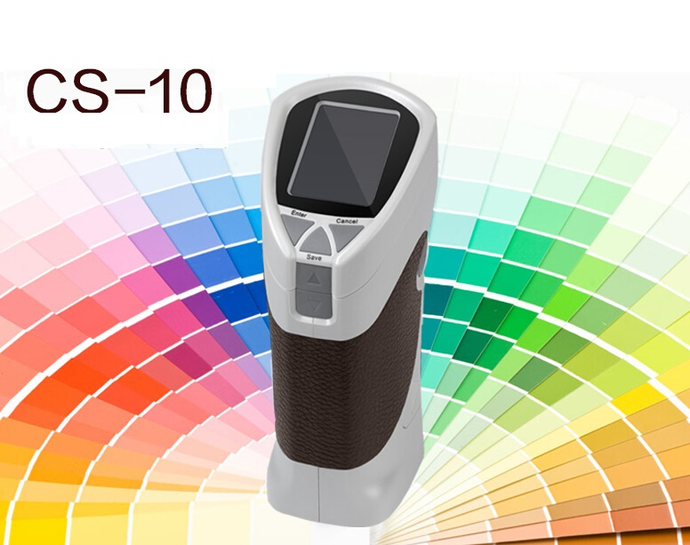 In Stock Fast Delivery CS 10 8mm Portable Digital Colorimeter Color Meter Color Analyzer