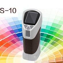 Быстрая CS-10 8 мм Портативный цифровой цветной измеритель цвета
