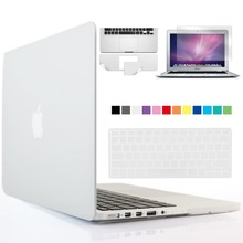 Crystal Clear Case For Macbook Air Pro Retina 11 12 13 15 Laptop Bag For Mac