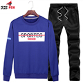 New Hoodie Sweatshirt Brand Clothing Tracksuits Long Sleeve Men Tops Hoody sportsuit printed hoodies +pant size 6XL,7XL,8XL,9XL