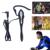 Fodsports Marca V4 + 2 * V6 1200 m BT Intercomunicador Inalámbrico auricular con Gancho Para La Oreja Del Auricular para 3 Árbitro de Fútbol hablando al Mismo Tiempo