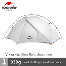 Naturehike Outdoor Ultra-light Single Tent Camping 15D Nylon Double Y-shape Waterproof Portable Aluminum Single-layer