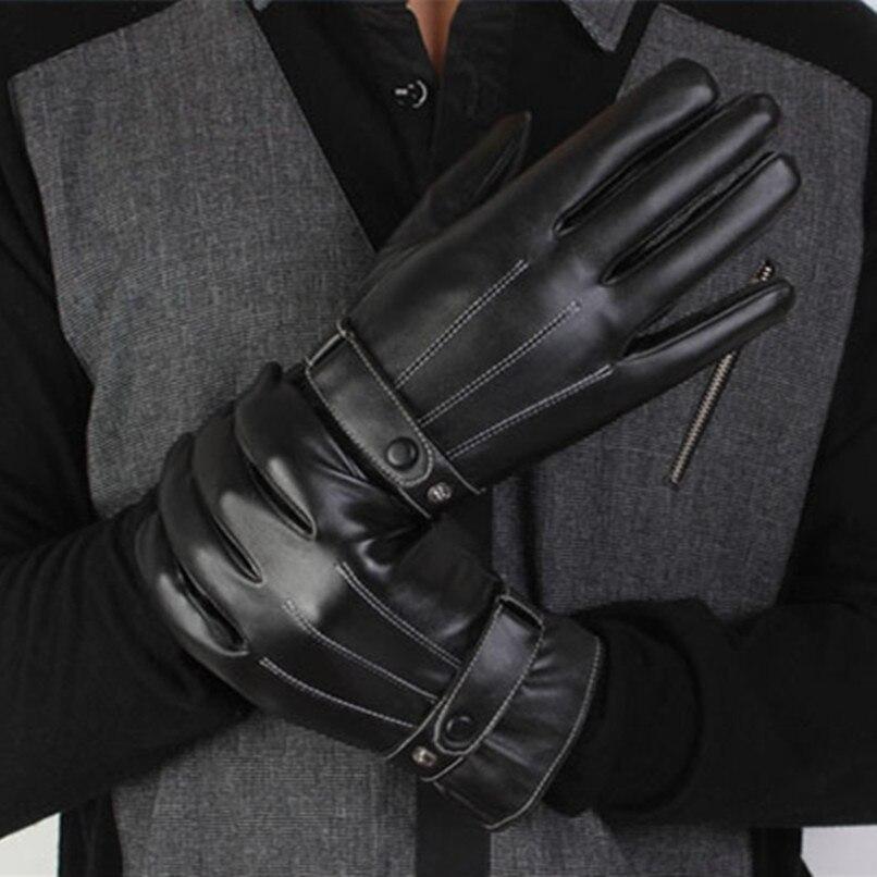 Winter Gloves Motorcycle Bike Leather Gloves Men Women Waterproof Warm Motocross Motorbike Tactical Cycling Gloves