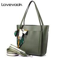 LOVEVOOK kobiet torebki torby kobiet torba na ramię duża pojemność panie casual torby na ramię wysokiej jakości z łuków Czarny