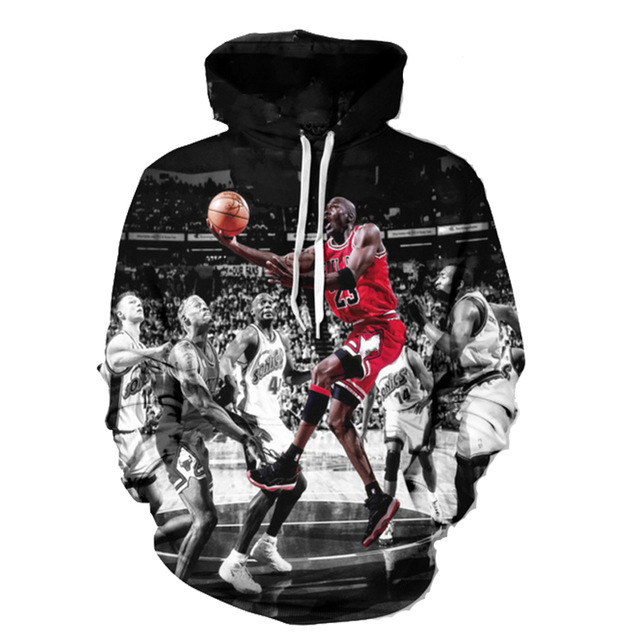 b72dfd7e1fe4 20PCS Fashion Jordan Hoodies Men 3d Print Painting Sweatshirt Designer Men s  Sweatshirts Crewneck Men women s Harajuku Hoody M64