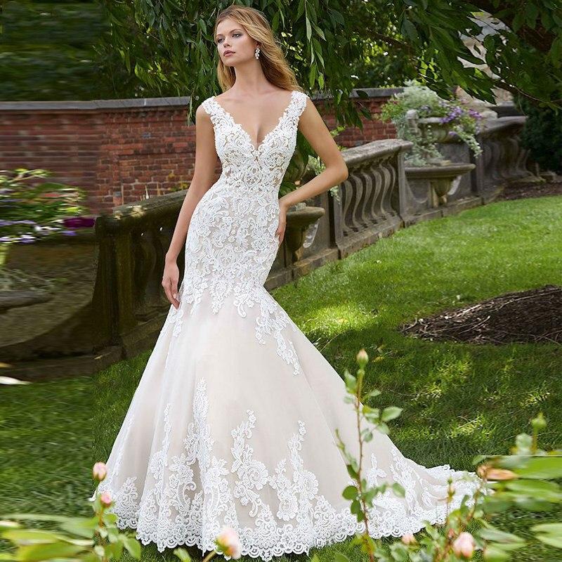 Custom-VNXIFM-Vintage-Mermaid-Wedding-Dress-2019-Sleeveless-Illusion-Mariage-Lace-Wedding-Dresses-gown