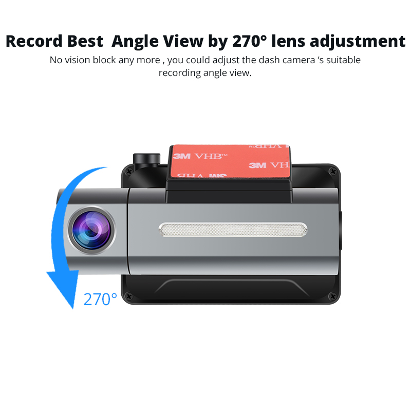 3G Car DVR with Android GPS log Dual Lens 1080p dash camera WIFI Car cam Video Registrar drive recorder-in DVR/Dash Camera from Automobiles & Motorcycles    2
