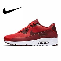 Original Authentic NIKE AIR MAX 90 ULTRA 2.0 Men's Breathable Running Shoes Sneakers Trainers Outdoor Athletic Walking jogging