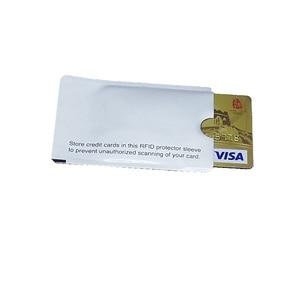 Image 3 - כרטיס RFID מסוכך שרוול חסימת 13.56 mhz IC הגנת כרטיס NFC כרטיס אבטחה למנוע מסריקה לא מורשה