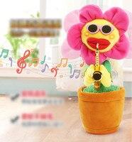 Cool fun Novelty Practical Jokes Gag Toys for children gift sunflower model toys