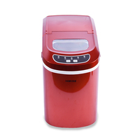Free DHL 1pc15kgs 24H 220V Small Commercial Automatic Ice Maker Household Ice Cube Make Machine For