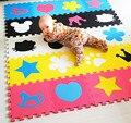 Desarrollo suave de los niños gateando alfombras, juego del bebé del rompecabezas de números/letras/de dibujos animados colchoneta de espuma eva, pad piso para juegos de bebé 30*30*1 cm