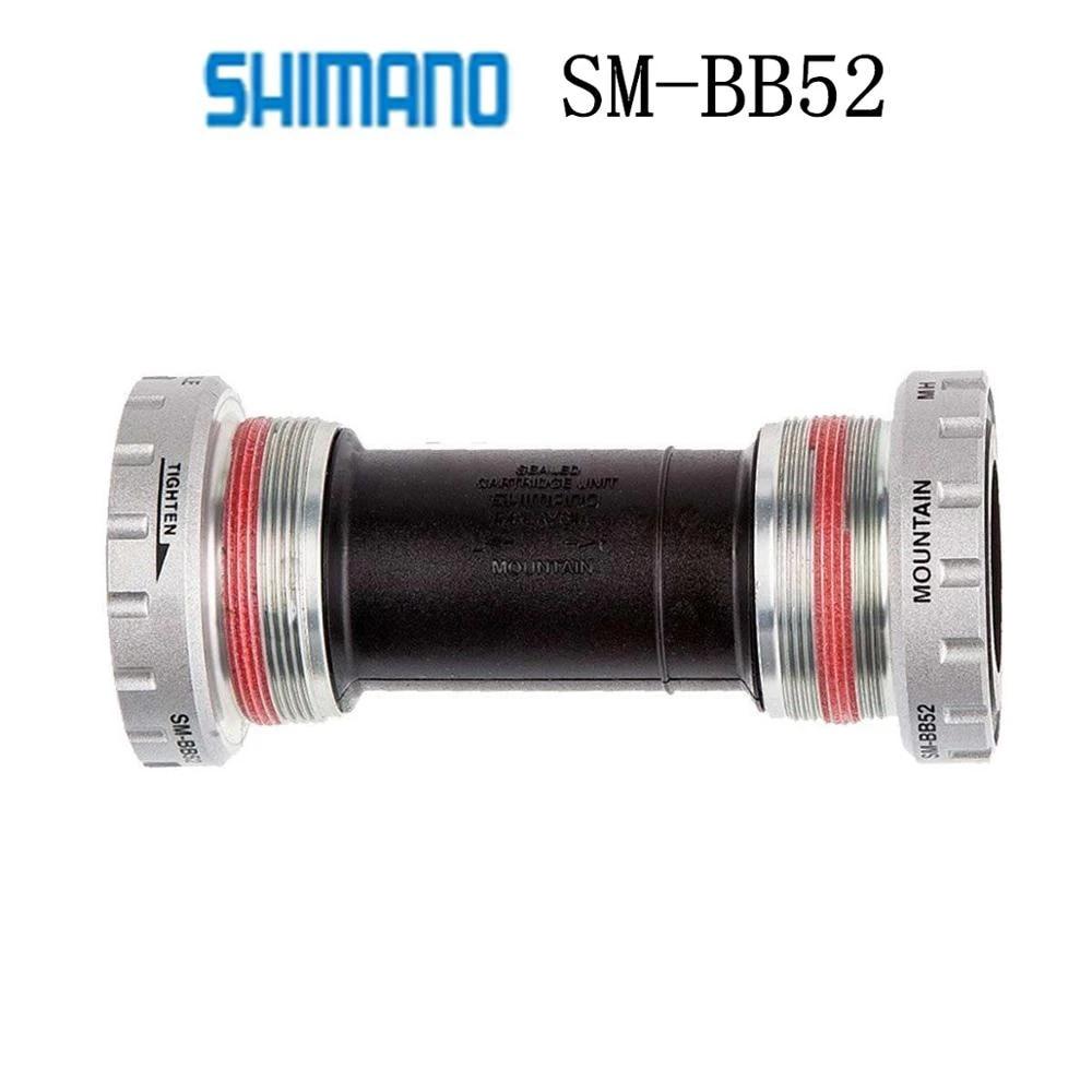 Shimano Deore SM BB52 Hollowtech II Bottom Bracket Mountain Bike Cycle 68//73 mm