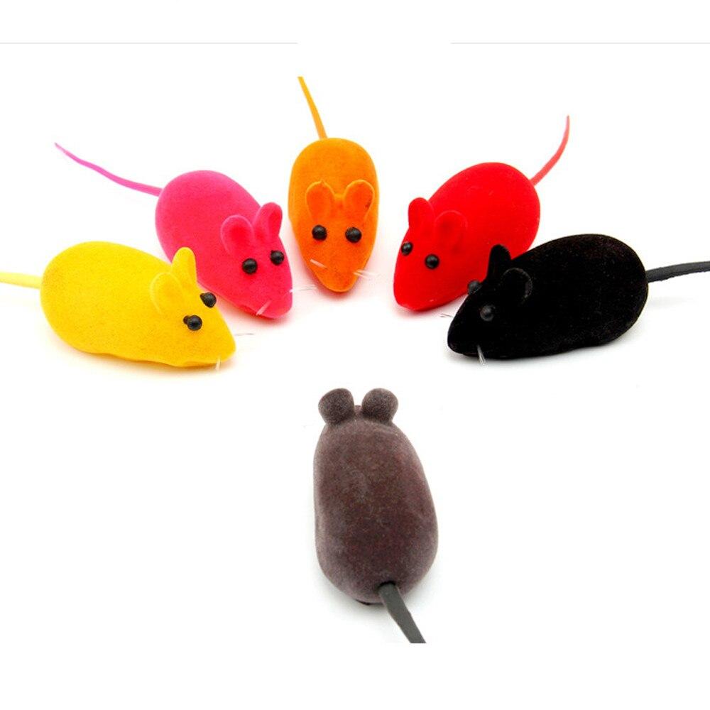 3 шт. Лидер продаж забавная игрушка маленькая Мышь реалистичный звук Игрушечные лошадки для Товары для кошек для домашних животных кошка со... ...