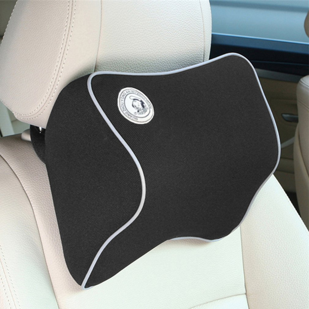 Comfortable car neck pillow polyester headrest neck guard car interior supplies auto vehicles accessories car styling