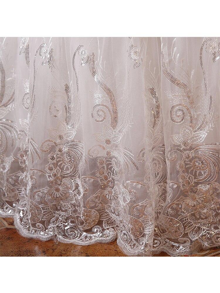 Хит,, новинка, белое модное кружевное свадебное платье принцессы, романтичное Тюлевое свадебное платье, Vestidos De Novia HS099