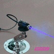 Регулируемый фокус сине-фиолетовые лазерные модули с подставкой промышленного использования бумажные деньги DIY детектор денег светильник