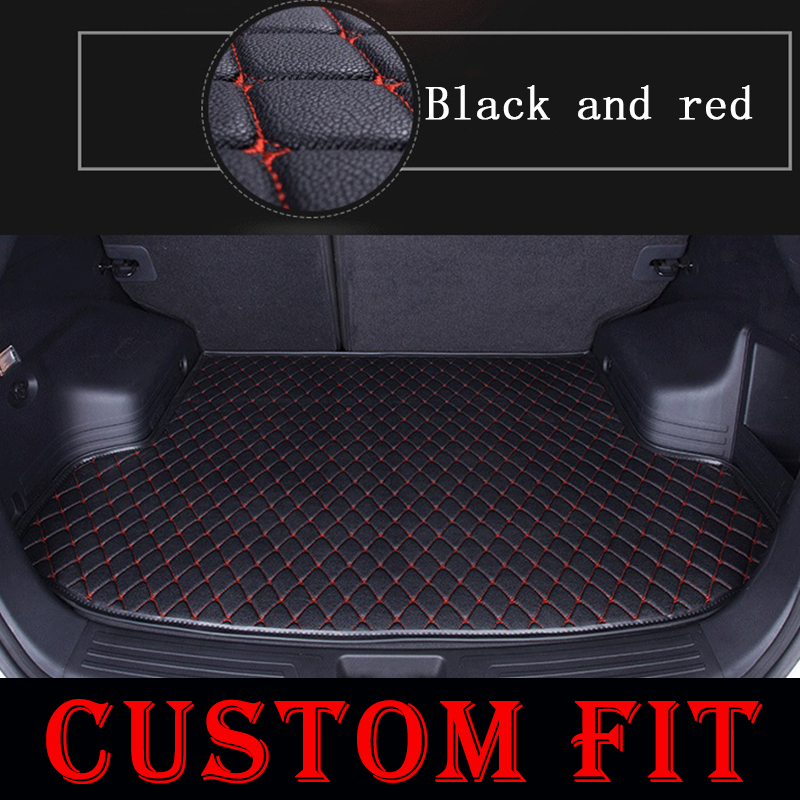 Custom fit car trunk mats for Land Rover Range Rover Evoque Discovery 1 2 34 2008