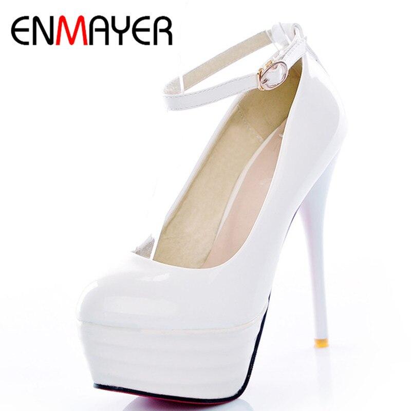 Best deals ) }}ENMAYER Sale Women Platform Pumps