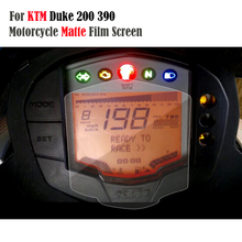 KEMiMOTO For KTM Duke 200 For KTM Duke 390 For KTM 200 390 Cluster Scratch Speedometer Film Screen Protection Protector Sticker