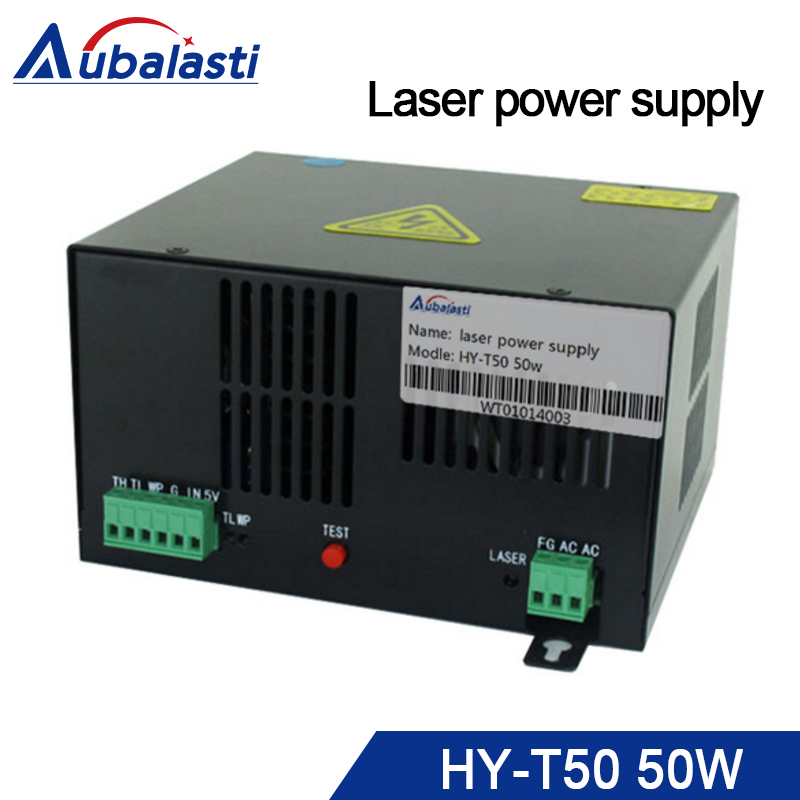 50w laser power supply HY-T50 match with co2 laser tube 50w laser engraving machine цены онлайн