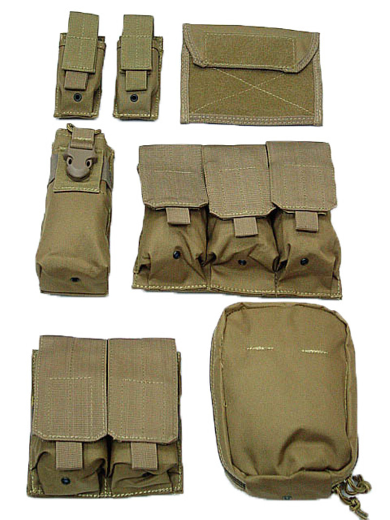 Image 5 - Tactical Vest Molle CIRAS Airsoft Combat Vest W/Magazine Pouch Releasable Armor Plate Carrier Strike Vests Hunting Clothes Gear-in Hunting Vests from Sports & Entertainment