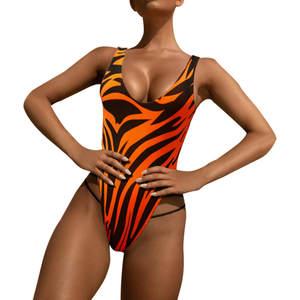 Jaycosin Skinny Jumpsuit One-Piece Print Female Sexy Casual Summer Beautiful Low-Waist