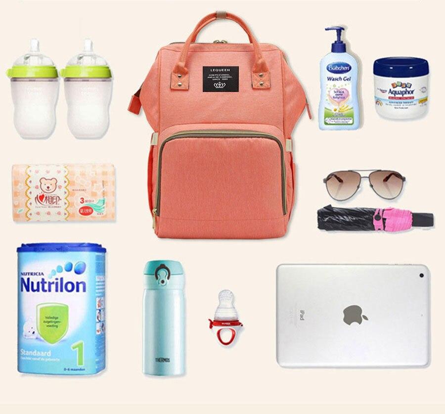 HTB1.AGjXfjsK1Rjy1Xaq6zispXaI Fashion Mummy Maternity Nappy Bag Large Capacity Baby Bag Travel Backpack Nursing Bag for Baby Care Nappy Hand Bag