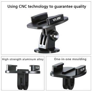 Image 3 - VIJIM GP 2 Aluminum GoPro Quick Release Mount Clip Convert Adapter for GoPro 8/7/6/5 DJI Osmo Action , Action camera Accessories