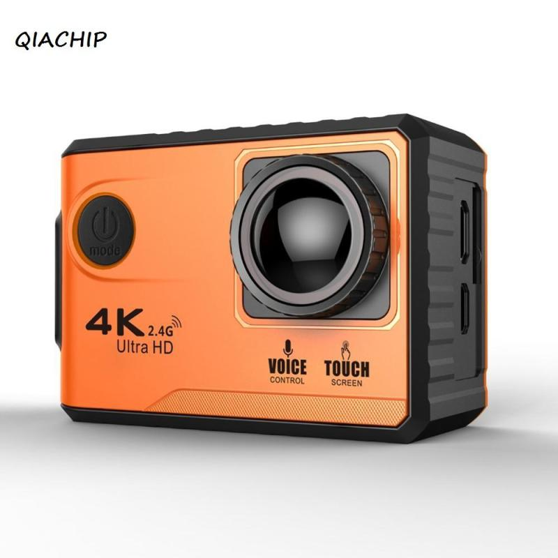 QIACHIP Mini Ultra HD K Action Camera Remote WiFi Anti shake