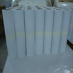 2020 nuevo papel de transferencia térmica ecosolvente para camiseta de color 50cm * 15m/rollo de papel de transferencia térmica de inyección de tinta ecosolvente de color oscuro