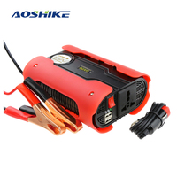 Aoshike 1000 Watts Power Inverter 12V DC To 220V AC Car Auto Power Inversor Modified Sine