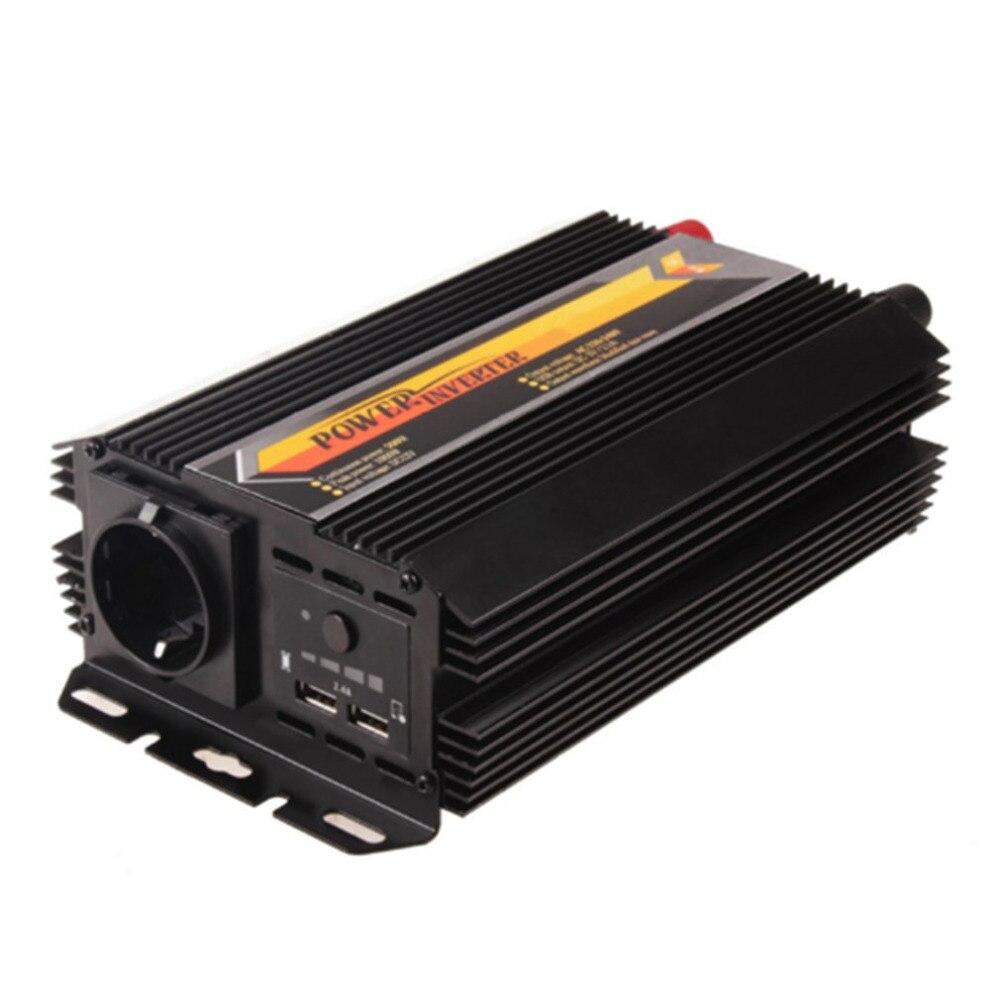 Efficacité de conversion élevée de Protection de court-circuit de surcharge d'inverseur d'énergie solaire d'onde sinusoïdale modifiée par T8093 300 W 600 W