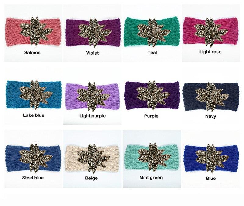 Aliexpress.com: Comprar 20 piezas cuentas flor diadema de punto para ...