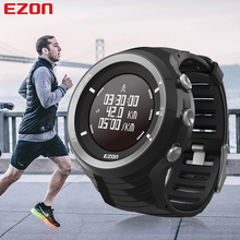 лучшая цена EZON Brand Mens Sports Watches Luxury Military Watches For Men Outdoor Electronic Digital Watch Male Clock Relogio Masculino G3