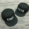 Hot Sale KING QUEEN Embroidery Basdeball Cap Snapback Hat For Men Women Letter Caps Lovers Snapback Sun Hat Caps AB017