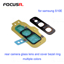 Colors Rear Camera Glass Lens and Cover Bezel Ring for Samsung Galaxy S10E G970U Mobile Phone Parts Mobile Phone Flex Cables