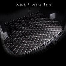 Kalaisike 맞춤형 트렁크 매트 모든 모델 A1 A3 A8 A5 A6 A7 A4 Q3 Q5 Q7 S3 S5 S6 S7 S8 R8 TT SQ5 SR4 7 자동차 스타일링