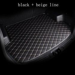 Kalaisike personnalisé tapis de coffre de voiture pour Audi tout modèle A1 A3 A8 A5 A6 A7 A4 Q3 Q5 Q7 S3 S5 S6 S7 S8 R8 TT SQ5 SR4-7 style de voiture