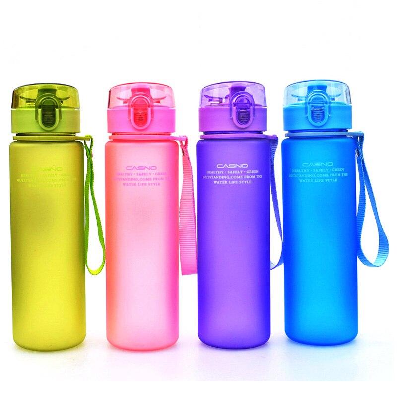 400 ml 560 ml BPA FREI Leak Proof Sports Wasserflasche Qualität Tour Wandern Tragbare Flaschen