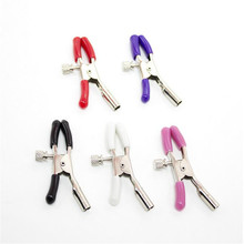 Multi Color Erotic Teat Clip Adult Games For Female