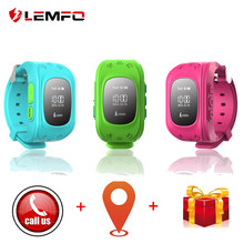 LEMFO Q50 Smart Watch Anti lost SOS Safe Kids Watches With GPS And With A Sim Card In Russian Q50 GPS Smart Kid(China)