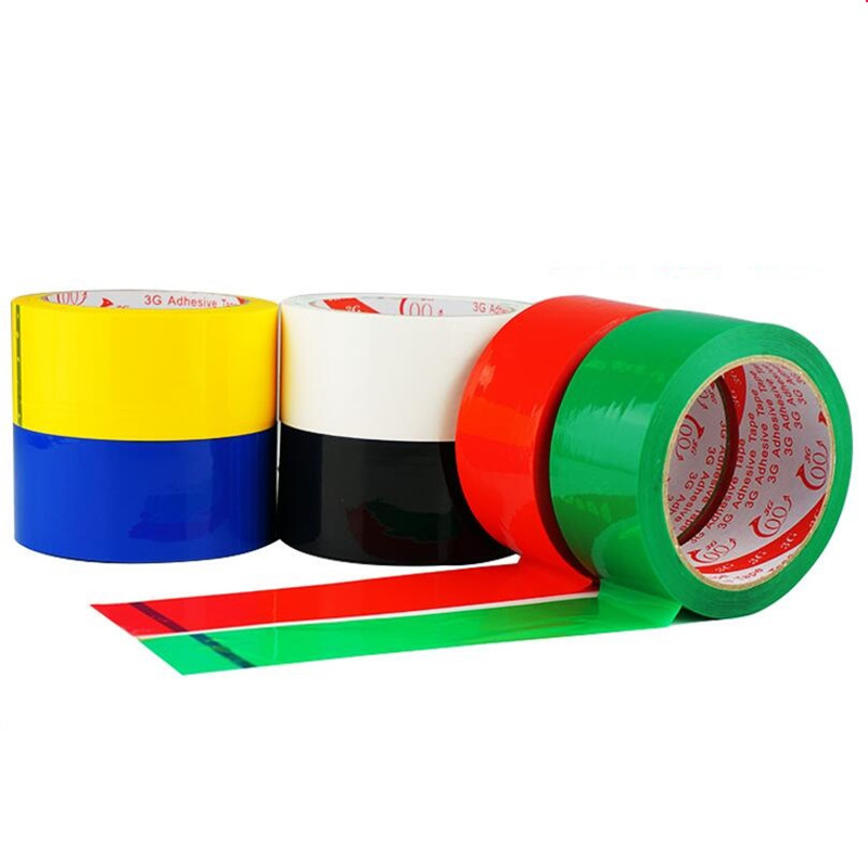1pcs*70 Meter* 45mm Color Tape Sealing Transparent Plastic Packing Tape Sealing Tape Office Adhesvie Tape