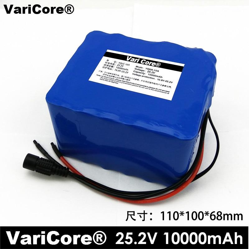 купить 24V 10AH 6S5P Lithium Battery installed battery Electric vehicle battery portable outdoor lights medicinal Battery Pack по цене 4811.84 рублей