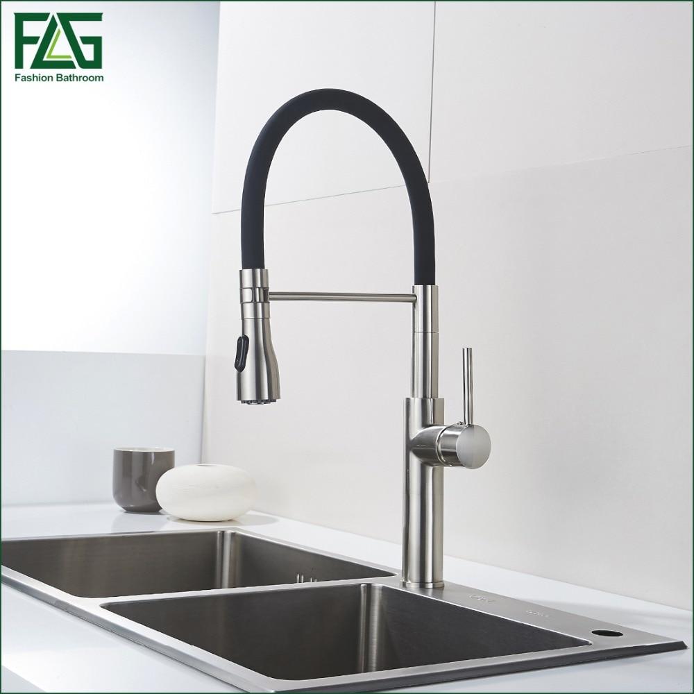 Unique Design font b Kitchen b font font b Faucet b font Brass Nickel font b