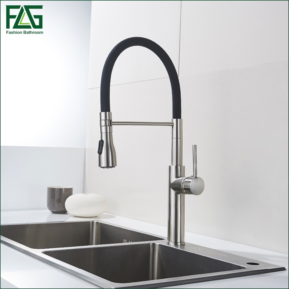 popular kitchen faucets brass buy cheap kitchen faucets brass lots unique design kitchen faucet brass nickel kitchen taps rotate 360 degrees black kitchen sink torneira parede