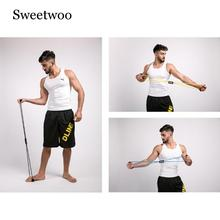 8 Word Resistance Bands Fitness Gum Rubber LOOP Latex Equipment Stretch Yoga Training Cross Fit Elastic Band